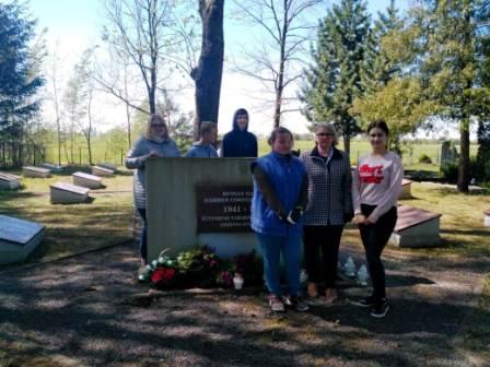 Karių kapų tvarkymas 8