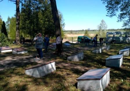 Karių kapų tvarkymas 9