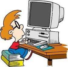 vaikas ir kompiuteris